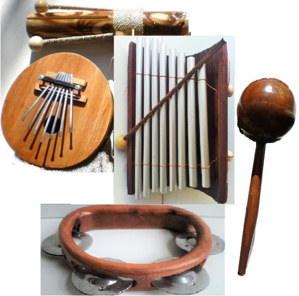 Percussion-set-maracas-karimba-clacker-tambourine-xylophone-8-note-musical-instrument-Adelaide-Australia.