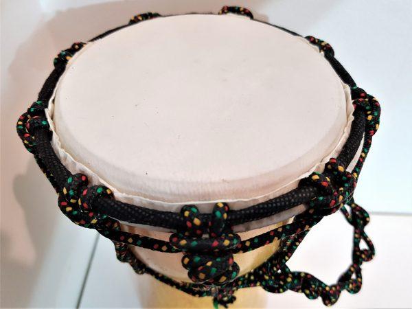 djembe drum 20cm mahogany wood