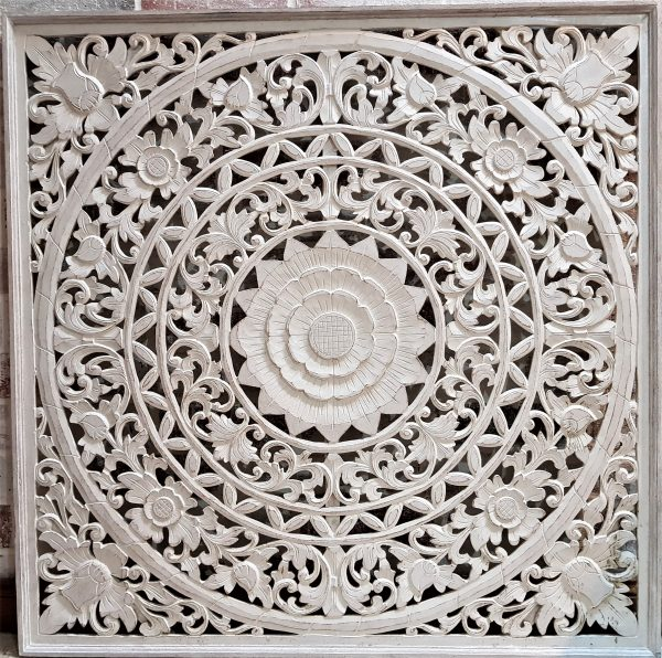 wall-hanging-mandala-art-carving-wood-white-wash-Bali-Balinese-Tropical-Scene-Adelaide-Australia-100cm